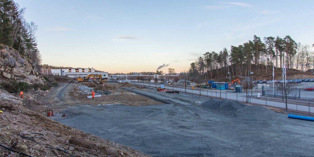 Fastmax bygger nytt åt handelsbolaget Ahlsell på regementsområdet