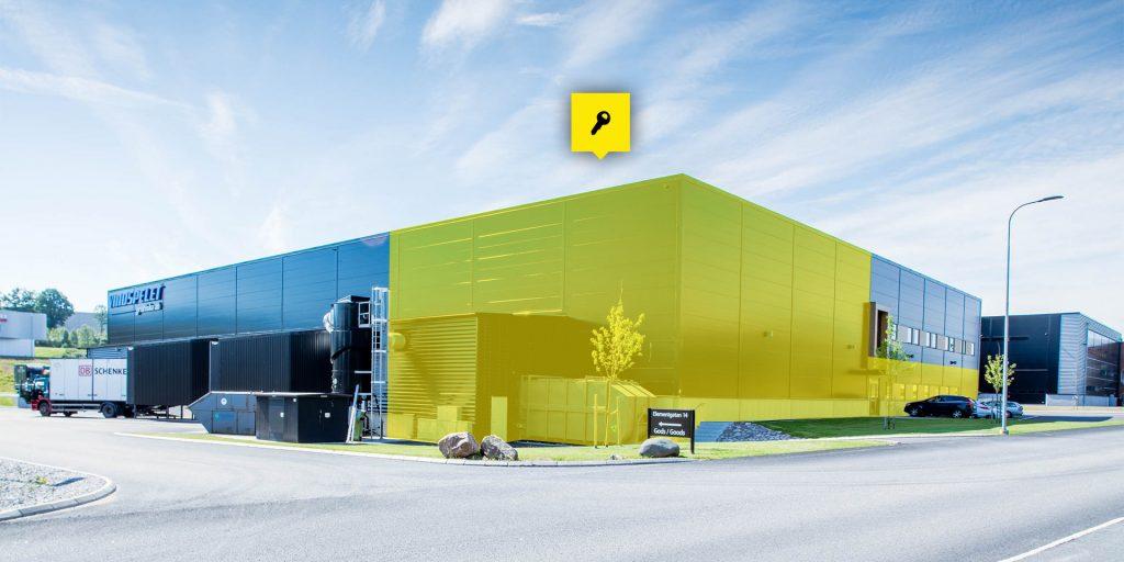 Kontor och lagerlokal på 1365 kvm