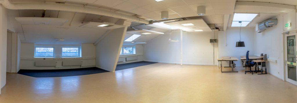 Kontor med takfönster, 110 kvm på Fabriksgatan 11